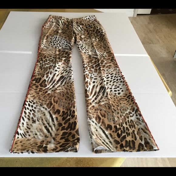 a9cb6c5d534f Escada Pants | Animal Print Jeans Now Trending | Poshmark